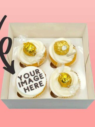 Luxe Gold Custom Cupcakes