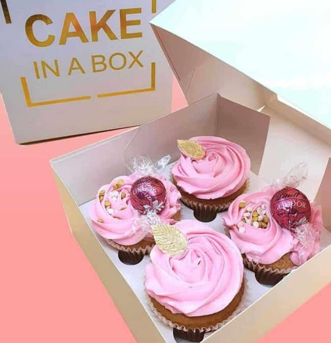 Pink Roses – Cupcakes