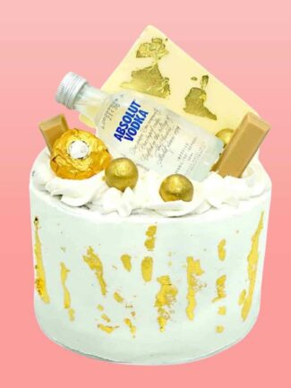 gold deluxe with alcohol