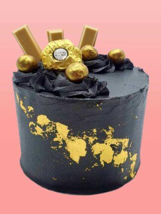 luxe 24ct black