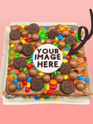 Custom Image Loaded Brownie